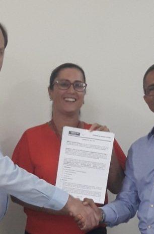 ASSEMPSC assina convênio JUSTVIDA