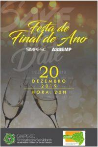Festa Final de Ano Conjunta ASSEMP E SIMPE @ Restaurante Sobrália - Clube dos Oficiais