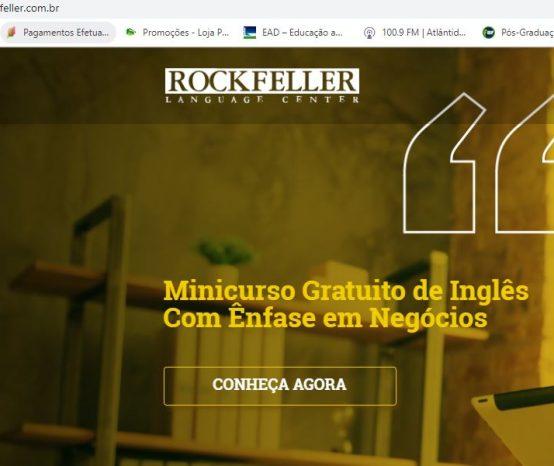 Nova Parceria – ROCKFELLER IDIOMAS